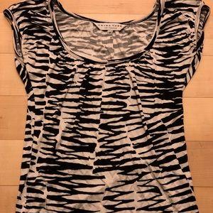 Trina Turk Zebra Print Top